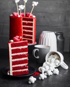 Recipes Baking Cake Red Velvet 59 New Ideas Cake Recipes For Kids, Cake Mix Recipes, Baking Recipes, Dessert Recipes, Desserts, Cake Pop Displays, Homemade Birthday Cakes, Cake Birthday, Eggless Baking