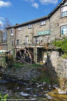 Old Bark Mill, Ambleside, the Lake District, Cumbria.  BEEN HERE!