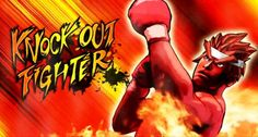 KnockOut Fighter Game Title by Byudha11