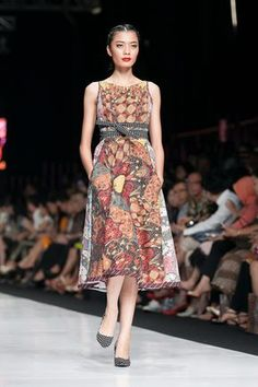 Dress Tenun Lurik Lulu Lutfi Jogjakarta  FASHION  Pinterest