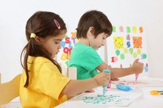 Art Therapy for Autism  Artistic endeavors can be a good way to help children focus - painting, sculpting clay, or simply drawing.