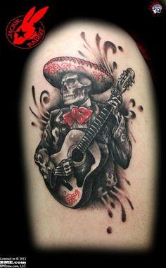 Flamenco skulltarist