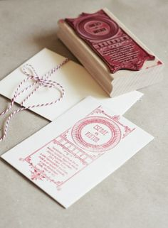 Wedding invitation stamp and print My Works, Wedding Invitations, Stamps, Gift Wrapping, Graphic Design, Gifts, Seals, Paper Wrapping, Wrapping Gifts