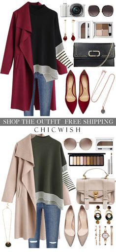 Perfect outfit idea to copy ♥ For more inspiration join our group Amazing Things ♥ You might also like these related products: - Jeans ->. Fall Winter Outfits, Autumn Winter Fashion, Stylish Outfits, Fashion Outfits, Womens Fashion, Fashion Usa, Ladies Fashion, Ropa Semi Formal, Baskets Louis Vuitton