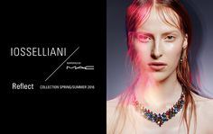 MAC Cosmetics supports IOSSELLIANI for H.P.FRANCE BIJOUX Japan. The ultimate collaboration.