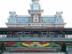 Magic Kingdom - Train Station | Posted at PassPorter.com by member eff051102 | Click for more detail and a better view!
