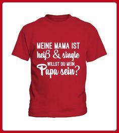 MAMA HEISS UND SINGLE LIMITIERT - Shirts für kinder (*Partner-Link)