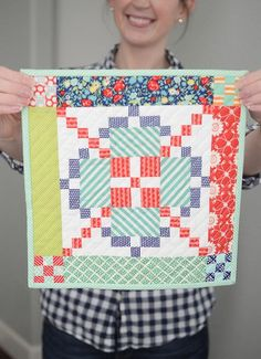 Mini Quilts from Camille Roskelly