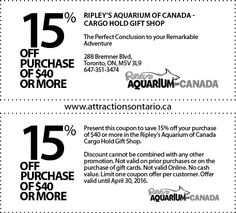 National aquarium discount coupons
