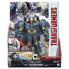 Transformers: The Last Knight Armor Turbo Changer Action Figure - Megatron