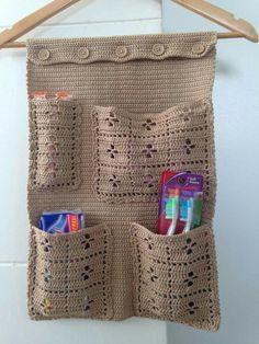 Best crochet ideas for home gift knitting patterns Ideas Crochet Gifts, Crochet Baby, Knit Crochet, Single Crochet, Crotchet Patterns, Knitting Patterns, Crochet Organizer, Pinterest Crochet, Crochet Home Decor