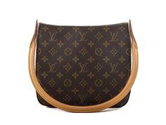 Authentic Louis Vuitton Looping MM monogram handbag M51146