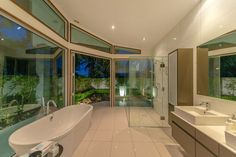 Secluded on of prime flat land and only minutes from the city fringe is this timeless contemporary home. The Dick Mercer design has been. Hamilton, Property For Sale, Bathtub, Contemporary, Home, Design, Standing Bath, Bath Tub, Bathtubs