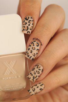 Nail Art Léopard - Smart Roller - Sephora ~ Didoline's Nails