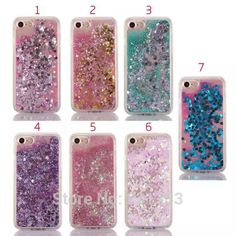 Cheap cover for, Buy Quality cover covers directly from China cover for iphone Suppliers: 7 Colors Glitter Star Liquid TPU Celular Cover For Apple iPhone 7 Case Clear Fundas Protective Cover Iphone 7 S, Iphone 7 Cases, Apple Iphone, Glitter Stars, Mobile Covers, Tablets, Best Phone, Iphone Models, Phone Cover