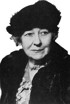 † Lizzy Ansingh (March 13, 1875 - December 14, 1959) Dutch painter, poet and children's book writer.