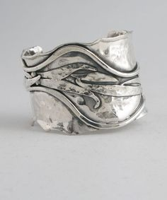 Cuff | Donald Marksz. Sterling silver