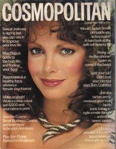 Jaclyn Smith - Cosmopolitan Magazine Cover [United Kingdom] (September 1981)
