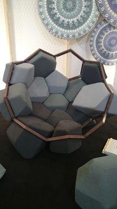 Crush: Quirky Quartz Armchair von CTROL ZAK und Davide Barzaghi Trendy Home Decorations Repurposed Furniture Armchair Barzaghi Crush CTROL Davide Decorations Home Quartz Quirky Trendy und von ZAK