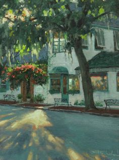 A Painting by Bill Farnsworth.  Terrific painter, terrific friend too.