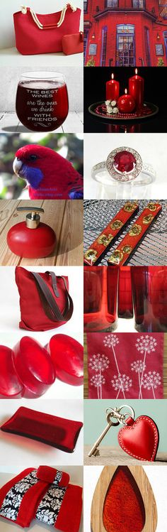 Colour me Red by Yvonne on Etsy--Pinned+with+TreasuryPin.com