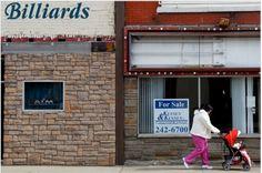 Overworked women in America's rust belt. christopherleo.com, The Passing Scene column