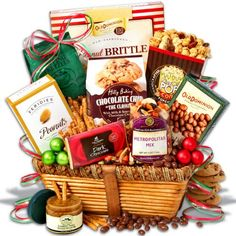 Gift Baskets - Pin it :-) Follow us, CLICK IMAGE TWICE for Pricing and Info . SEE A LARGER SELECTION of gift baskets at http://azgiftideas.com/product-category/gift-baskets/ - gift ideas , gift set -  Christmas Gift Basket Classic™