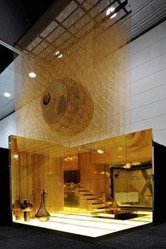 Cascade Coil Design ExStand – Vote Now – Melbourne Design Awards – 2010 Melbou … – Exhibition Stand – Exhibition Stand Atrium Design, Kiosk Design, Display Design, Retail Design, Australian Interior Design, Interior Design Awards, Exhibition Stand Design, Exhibition Display, Temporary Architecture