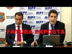 Coletiva da PF - Operação FATURA EXPOSTA - 11/04/2017