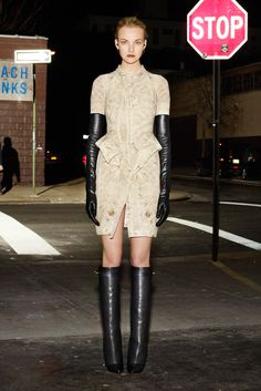 Caroline Trentini, Givenchy Pre-Fall 2012 - Collection - Gallery - Style.com