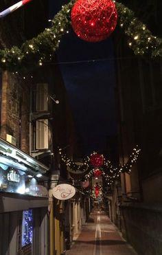 #Carey'sLane ready for #Christmas #Cork.  Taken form tweet by @dukescoffeeco