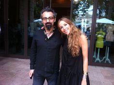 Sevag and Tala at Fashion Forward Dubai