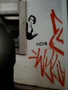 gategallerier: Gatekunstneren IKKE NO foreviget i boken Street Art Norway