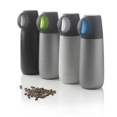 荷兰XDDesign HotFlask双层真空不锈钢带杯保温杯 运动旅行水壶
