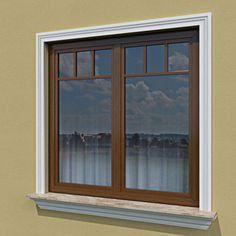 Wizualizacja produktu Listwa elewacyjna L18 1, Windows, Profile, House, User Profile, Ramen, Window