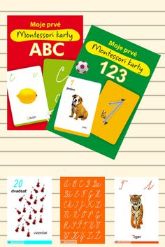 Precvičovanie počítania a písania číslic pomocou kariet. Naznačený smer písania napomáha správnym písacím návykom. Karty sú inšpirované pedagogikou Montessori. #karty #montessori #deti #pedagogika #pocitanie #pisanie #precvicovanie Montessori