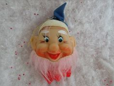 Vintage Christmas Elf Ornament Light Cover by greatvintagefun