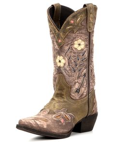 Laredo Women's Miss Kate Boot - Tan/Pink