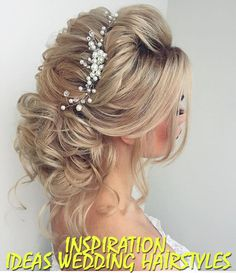 Inspiration. Ideas wedding hairstyles.