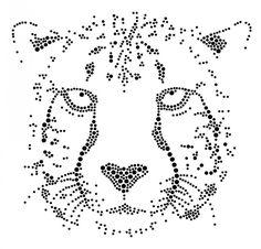 Cheetah | Tijgers, Leeuwen, Luipaard, Cheetah | glittermotifs