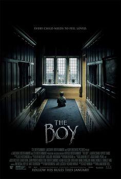 'The Boy', acompanha a história de Greta (Lauren Cohan), uma garota que aceita o emprego de babá numa casa que fica em uma remota vila inglesa. No entanto, quando ela chega na residência dos novos patrões