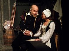 Dale Simon and Morgan Petronis in Equivocation at ActorsNET