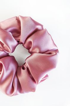 "Rosé - Satin Scrunchie  Handmade Item  This listing is for one scrunchie.  Receive a discount when you order 3 Scrunchies! Use the code ""SETOF3"" at checkout.  Every scrunchie is handmade by us in Alberta, Canada. These can be wrapped around your hair once, or multiple times depending on the thickness of your hair. Handmade Accessories, Handmade Items, Bridal Shower Favours, Rose Hair, Birthday Party Favors, Alberta Canada, Scrunchies, Satin, Bridesmaid"