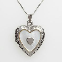 Sterling Silver Hearts-of-Hearts Locket
