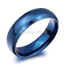 Cheap steel blue, Buy Quality rings for men directly from China fashion rings Suppliers: Modyle New Fashion Stainless Steel Blue Color The Rings for Men and Women Finger Ring Jewelry Skull Wedding Ring, Wedding Ring Bands, Promise Ring Band, Stacked Wedding Bands, Wide Band Rings, Titanium Rings, Stainless Steel Rings, Fashion Rings, Fashion Jewellery