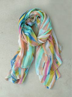 Painted Lines Scarf lots a really cute $10 shafts at this website