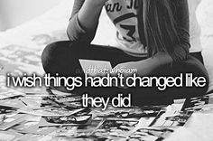 Yeah, but in a way they were for the best. Even if losing someone was for the best. The Last Summer, Justgirlythings, Romance, Totally Me, Describe Me, It Goes On, I Can Relate, Get To Know Me, Look At You