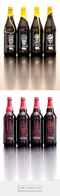 Brew Bokeh: Craft Beer curated by Packaging Diva PD. Thought you might enjoy this odd beer packaging collection : ) More - Brew Bokeh: Craft Beer curated by Packaging Diva PD. Thought you might enjoy thi. Burger Bar, Craft Beer Labels, Wine Labels, Craft Bier, Bottle Packaging, Coffee Packaging, Food Packaging, Beer Label Design, Beer Photos