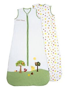 Slumbersac Baby Sleeping Bag approx. 2.5 Tog - Forest Friends - 0-6 months/70cm