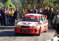 Richard Burns - Robert Reid 40th Rallye Sanremo 1998 (Mitsubishi Carisma GT)